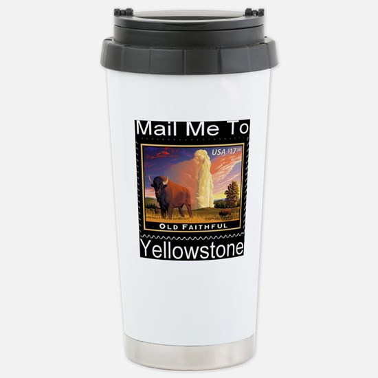 mailmeto_yellowstone_re Stainless Steel Travel Mug