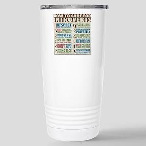 Introvert2 Stainless Steel Travel Mug