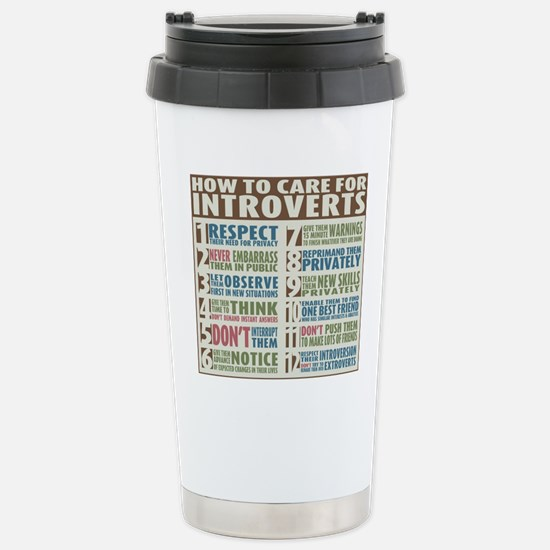 Introvert2 Stainless Steel Travel Mug