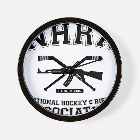 National hockey and rifle assn Wall Clock