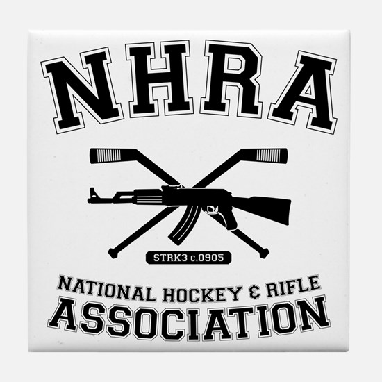 National hockey and rifle assn Tile Coaster
