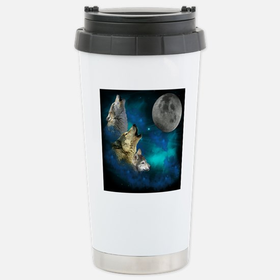 New Wolfs family moon 2 Stainless Steel Travel Mug