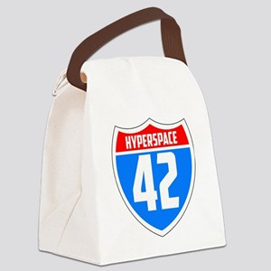 Hyperspace 42 Canvas Lunch Bag