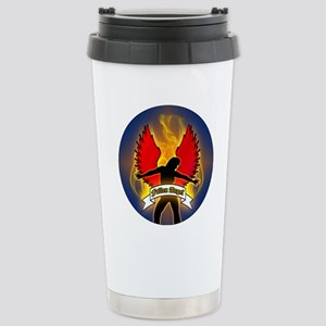 FALLEN-ANGEL-3-INCH-BUT Stainless Steel Travel Mug