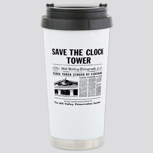 savetheclocktower Stainless Steel Travel Mug
