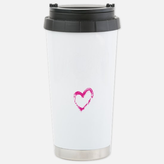 high voltage line wife  Stainless Steel Travel Mug