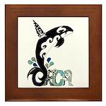 Orca Freedom Framed Tile