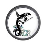 Orca Freedom Wall Clock