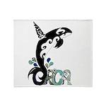 Orca Freedom Throw Blanket