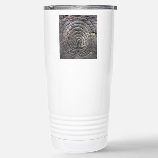 LabyrinthSquareForCP Stainless Steel Travel Mug