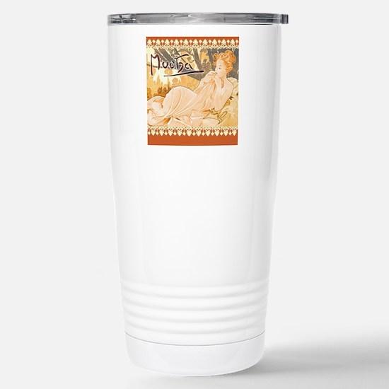 MuchaDusk7100 Stainless Steel Travel Mug