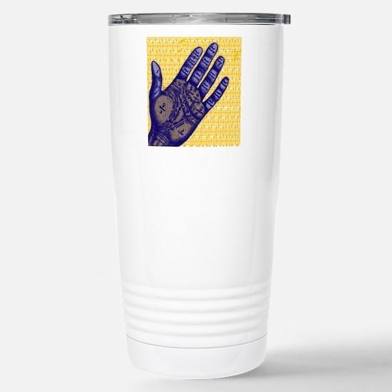 Phrenology Stainless Steel Travel Mug