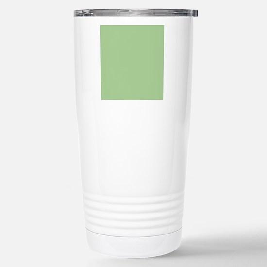 Pistachio plain Shower  Stainless Steel Travel Mug