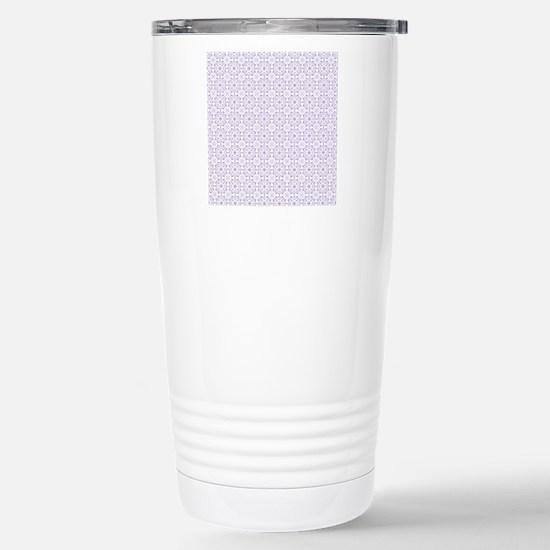 Amara lavender Shower c Stainless Steel Travel Mug
