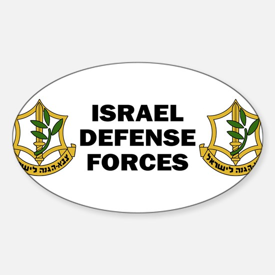 IDF-bumper Decal