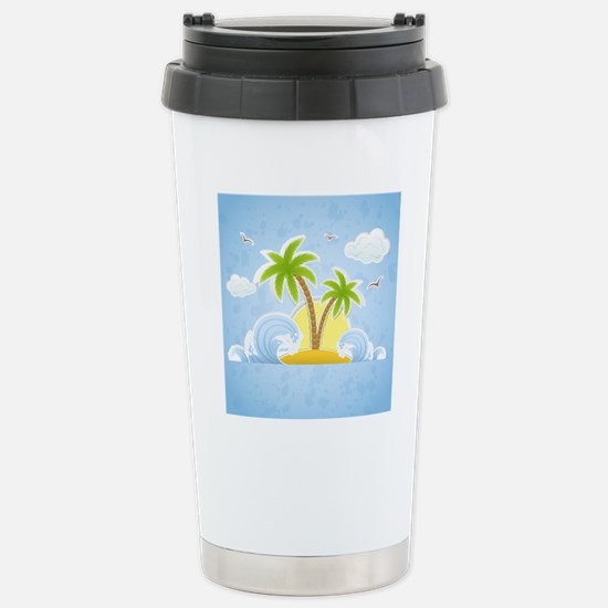 showercurtain35 Stainless Steel Travel Mug
