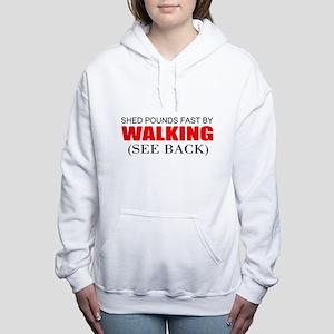 Weight loss Women's Hooded Sweatshirt