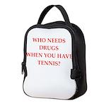 tennis Neoprene Lunch Bag