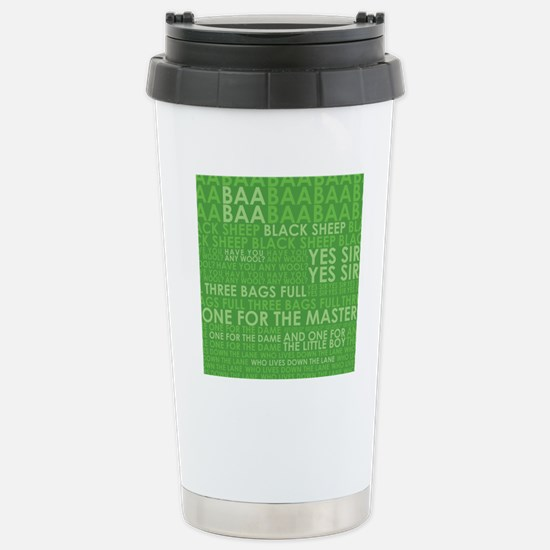 Baa baa green Stainless Steel Travel Mug