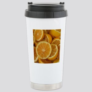 Lemons 2 Stainless Steel Travel Mug