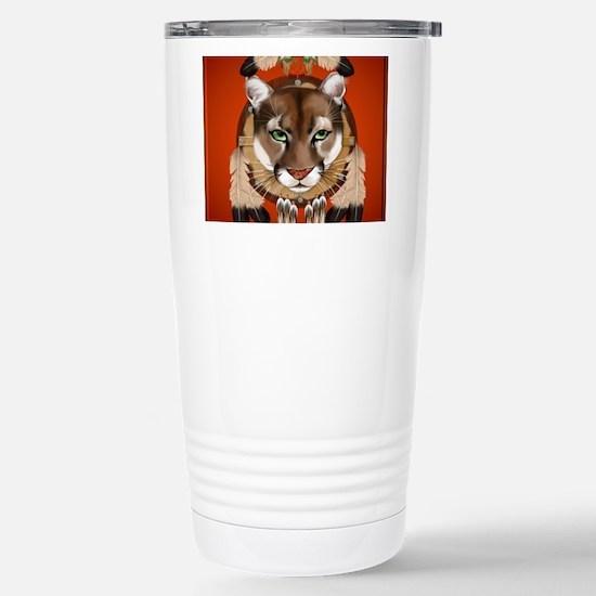 Queen Duvet Cougar Shie Stainless Steel Travel Mug