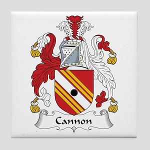 Cannon Tile Coaster