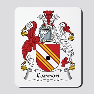 Cannon Mousepad