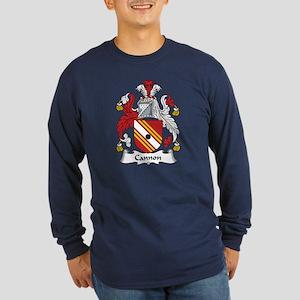 Cannon Long Sleeve Dark T-Shirt