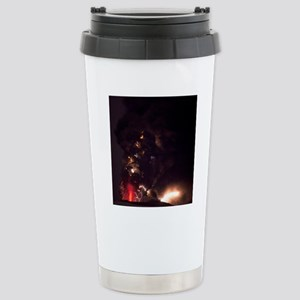 Volcanic lightning, Ice Stainless Steel Travel Mug