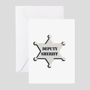 Deputy Sheriff Greeting Cards (Pk of 10)