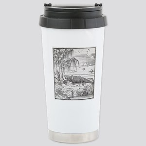 Nile crocodile, 16th ce Stainless Steel Travel Mug