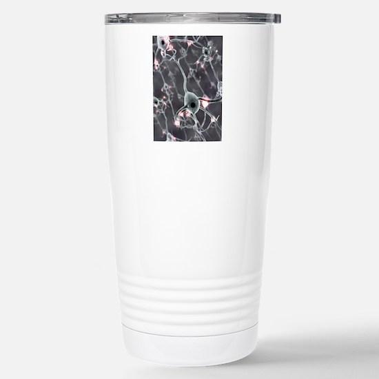 Neural network, compute Stainless Steel Travel Mug