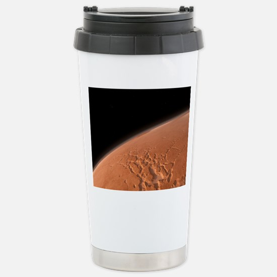 Martian surface, artwor Stainless Steel Travel Mug