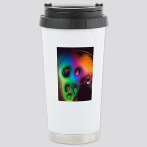 Lysozome protein crysta Stainless Steel Travel Mug