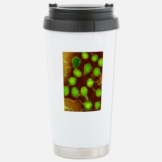 La Crosse encephalitis  Stainless Steel Travel Mug