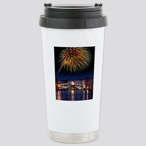 Fireworks display, Veni Stainless Steel Travel Mug