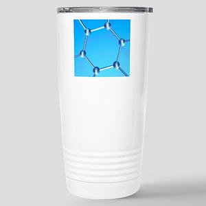 Buckminsterfullerene Stainless Steel Travel Mug