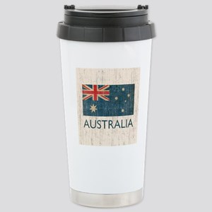 VintageAustralia Stainless Steel Travel Mug