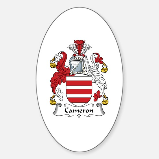 Cameron Oval Decal