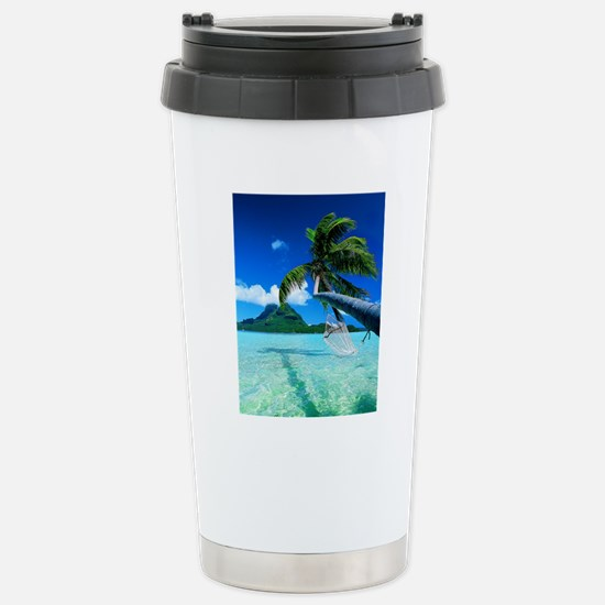 Beach Stainless Steel Travel Mug