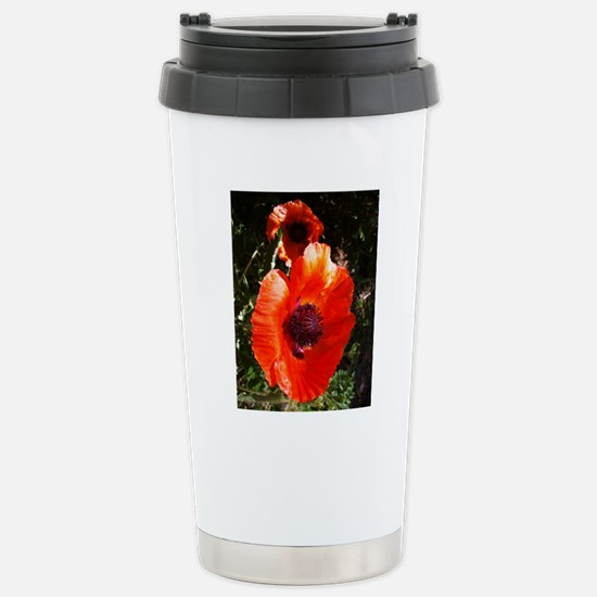 Iceland Poppy Stainless Steel Travel Mug