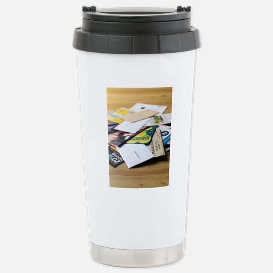 Junk mail Stainless Steel Travel Mug