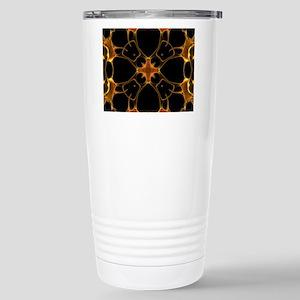 Neurons, kaleidoscope a Stainless Steel Travel Mug