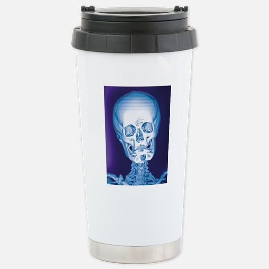 Normal skull, X-ray Stainless Steel Travel Mug