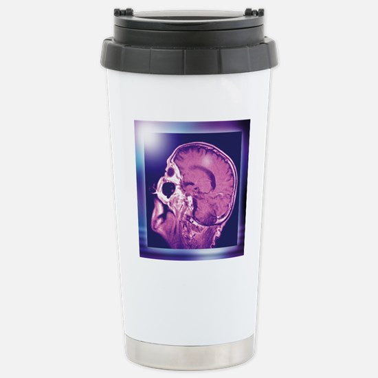 Normal head and brain,  Stainless Steel Travel Mug
