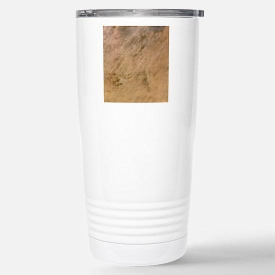 Tenoumer Crater, satell Stainless Steel Travel Mug