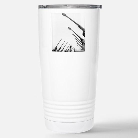Soviet guns for dispers Stainless Steel Travel Mug