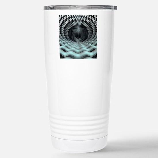 Mandelbulb fractal Stainless Steel Travel Mug