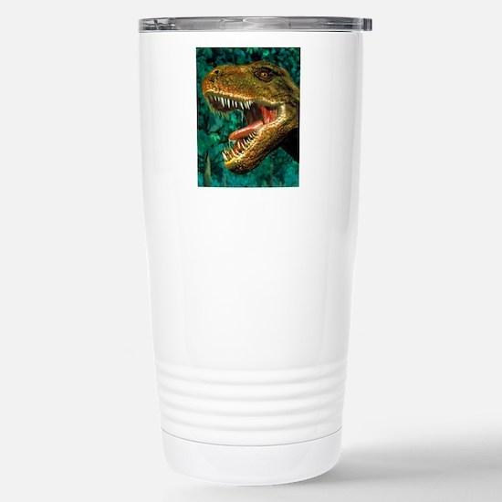 Tyrannosaurus rex dinos Stainless Steel Travel Mug