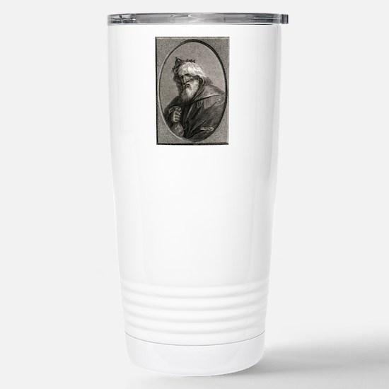 Plutus, Greek god of we Stainless Steel Travel Mug